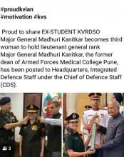 PROUD MOMENT FOR KV RDSO